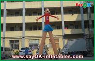 Chine Danseurs rouges d'air de la publicité de bande dessinée imprimant 5m attrayants hauts pour le supermarché usine