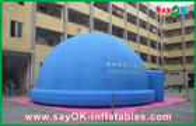 Chine Tente de enseignement 3.2M d'astronomie gonflable bleue de planétarium pour l'observation de 360 degrés usine