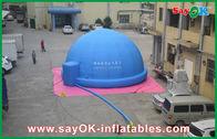 Chine Planétarium gonflable bleu de Digital pour film de enseignement/de observation usine