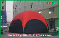 Chine PVC gonflable extérieur de tente d'hexagone rouge de 3M grand pour la vocation société
