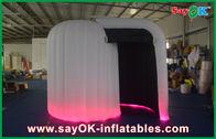 Chine Photobooth gonflable d'intérieur, tente gonflable blanche faite sur commande de cube usine