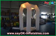 Chine Tissu sûr d'Oxford de cabine gonflable d'argent de Commerical avec la lumière menée usine