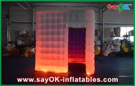 Chine Cabine gonflable de photo imprimée par logo, tente gonflable d'intérieur d'événement usine