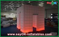 Chine Cabine gonflable portative blanche de photo, tente gonflable durable de partie usine