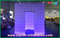 Chine La cabine gonflable de photo d'explosion de publicité a mené le tissu du cube 210d Oxford usine