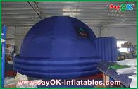 Chine Tente gonflable éducative bleue de dôme de planétarium gonflable d'intérieur de Digital 7m usine