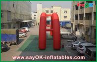 Chine Voûte gonflable du rouge 5x3M, voûte gonflable de la publicité de tissu d'Oxford usine