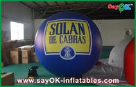 Chine Événement bleu de reconstitution historique de PVC de zeppelin de ballon 2.5M gonflable extérieur d'hélium usine