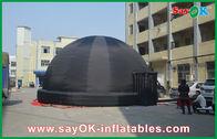 Chine tente gonflable noire de dôme de planétarium de 8M pour l'éducation extérieure usine