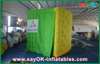 Chine Tissu coloré gonflable pliable de Photobooth Shell Oxford avec la bande menée usine