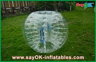 Chine De haute résistance sans plomb de boule de hamster classé par humain gonflable portatif usine