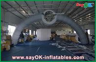 Chine Voûte gonflable de la publicité d'entrée de repaire blanc/location gonflable de voûte avec le tissu d'Oxford usine