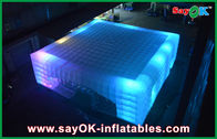 Chine L'OEM a mené la tente gonflable géante d'air de cube pour les foires, 14 x 14m usine