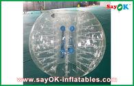 Chine Adaptez les ballons de football gonflables de boule de Zorbing de corps de TPU 1.5m imprimant usine