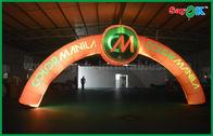 Chine Voûte gonflable d'entrée d'arcades gonflables menée par PVC adaptée aux besoins du client usine