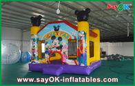 Chine Château plein d'entrain sautant gonflable d'houblon heureux populaire de château de souris de Micky usine
