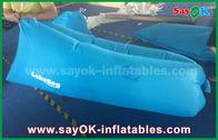 Chine Canapé-lit paresseux d'air de produits gonflables faits sur commande bleus de preuve de l'eau avec le tissu en nylon usine
