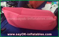Chine Divan paresseux gonflable fait sur commande rose Laybag de déplacement d'air de sac de couchage de produits usine