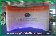 Chine 3 x 1,5 x 2,3 M ont mené le mur Photobooth gonflable avec l'impression usine