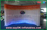 Chine Mur gonflable mené adapté aux besoins du client d'éclairage de cabine de photo de mur d'air usine