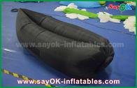 Chine Sofa gonflable de déplacement en nylon pur d'air de couchage de Caming de sac d'individu gonflable de matelas pneumatique usine