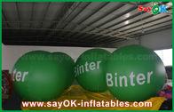 Chine ballon mené gonflable géant vert d'hélium de 2.5m pour la publicité usine