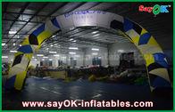 Chine Tissu d'Oxford annonçant la ligne d'arrivée gonflable voûte/blanc d'arcade avec la lumière menée usine