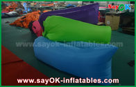 Chine Divan paresseux gonflable d'air de sac de couchage de tissu en nylon pour extérieur usine