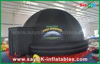 Chine tente gonflable noire de projection de dôme de planétarium de diamètre de 5m pour l'enseignement d'école usine