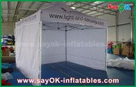 Chine Blanc promtional aluminium Tente pliante Canopy Tente pour la publicité usine