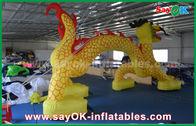 Chine Voûte gonflable d'entrée de 7 x de 4M/voûte gonflable de finition pour promotionnel usine