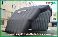 Chine couleur gonflable de noir de tente de dôme de couverture d'étape de tente d'air de manteau de PVC de 8m en démonstration usine