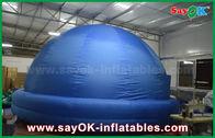 Chine Tissu en forme de dôme adapté aux besoins du client d'intérieur de projecteur de planétarium gonflable d'enfants petit usine