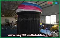 Chine Le diamètre 2.5m a adapté la tente aux besoins du client gonflable de cabine, biens de tente de cabine de photo de PVC usine