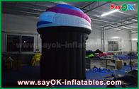 Chine Cabine mobile gonflable formée adaptée aux besoins du client de photo de crème glacée mini avec le ventilateur usine