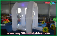 Chine Machine gonflable promotionnelle de cabine d'argent d'éclairage de Protable pour la location usine