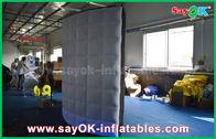 Chine Mur de allumage mené gonflable noir/blanc Photobooth gonflable pour épouser l'événement usine