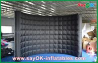 Chine Cabine gonflable de photo de tissu d'Oxford avec l'approbation incluse de GV de mur d'éclairage usine