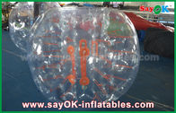 Chine Boule gonflable de diamètre Zorb de l'adulte 1.5m, le football humain transparent de bulle TPU/PVC usine
