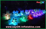 Chine Épouser la chaîne de fleur menée gonflable romantique, décorations gonflables extérieures usine