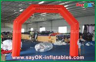 Chine Ventilateur gonflable rouge d'UL/CE de sécurité de voûte de finition de 4 x de 3m 210D Oxford pour la course usine