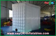 Chine Arc blanc - cabine gonflable portative formée Shell 4 x 2,4 x 2.4m ROHS de photo usine