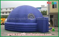Chine Tente durable de projection d'architecture de dôme gonflable de planétarium de diamètre du bleu 7m usine