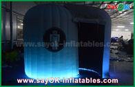 Chine Tente mobile de dôme de cabine de photo de peinture gonflable avec de l'eau imprimé par logo - toit usine