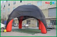 Chine Jambes gonflables rouges/de noir araignée de dôme de la tente 4 avec le tissu d'Oxford ignifuge usine