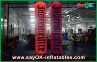 Chine Les piliers annonçant l'éclairage gonflable/colonnes montent en ballon avec l'impression de logo usine