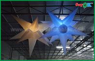 Chine Lumière menée gonflable accrochante d'étoile de décoration de Noël pour le plafond décoratif usine