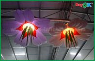 Chine La décoration gonflable d'éclairage d'étape de mariage a mené épouser la fleur gonflable usine
