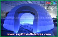 Chine Tente commerciale d'événement de tente gonflable ronde blanche de dôme pour la partie/salon commercial usine