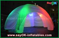 Chine 5 jambes LED allumant la tente gonflable de dôme d'araignée gonflable avec le ventilateur de la CE/UL usine